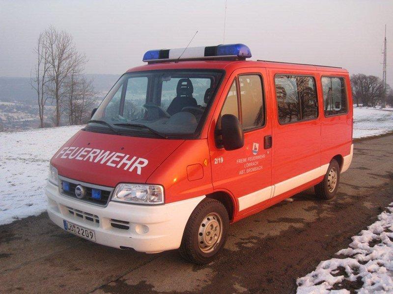 Mannschaftstransportwagen Brombach